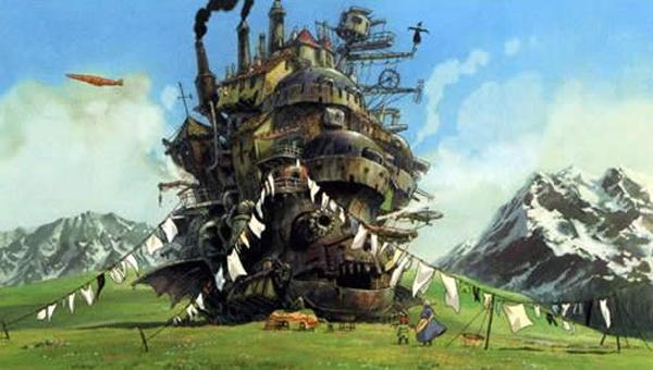 Jo. Přesně takhle si představuji zámek v oblacích. Haha :)