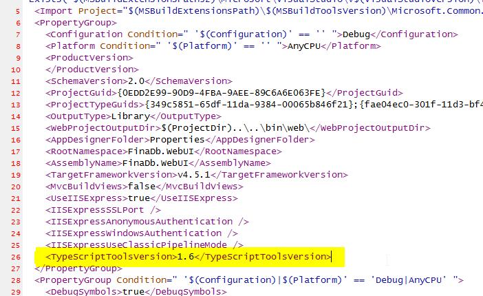 <TypeScriptToolsVersion>1.6</TypeScriptToolsVersion>